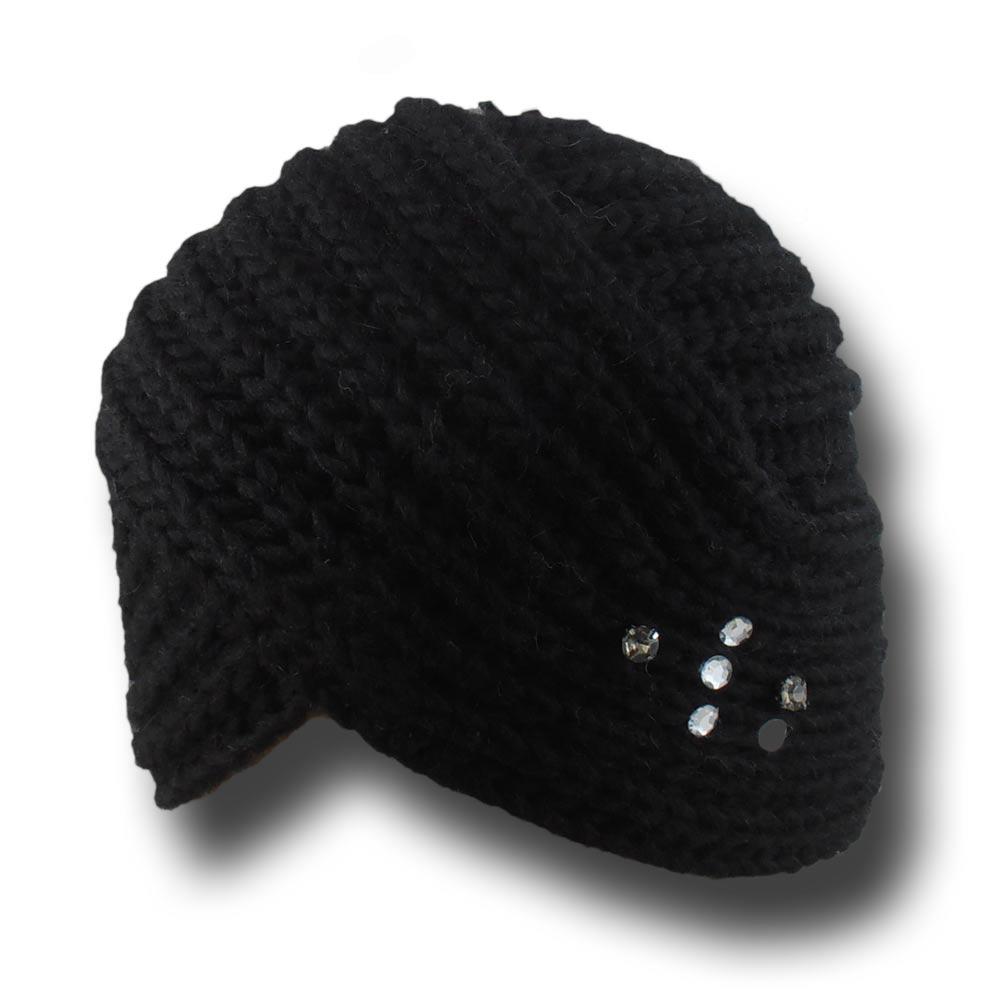 Melegari Cappello cuffia-turbante Valériane 1c5f32a4e237
