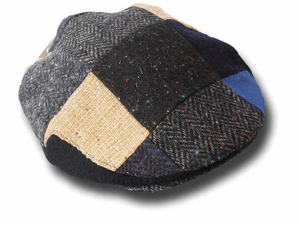 Hatman of Ireland Casquette plate patchwork Do