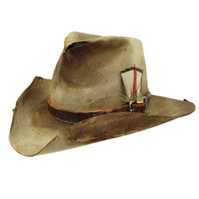 Cappello western antichizzato Bounty Hunter