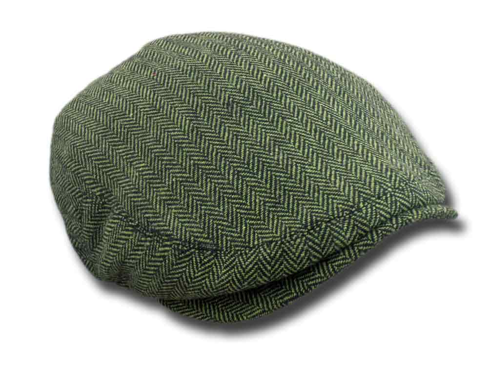 Shandon County  Fishbone Flatcap Grün