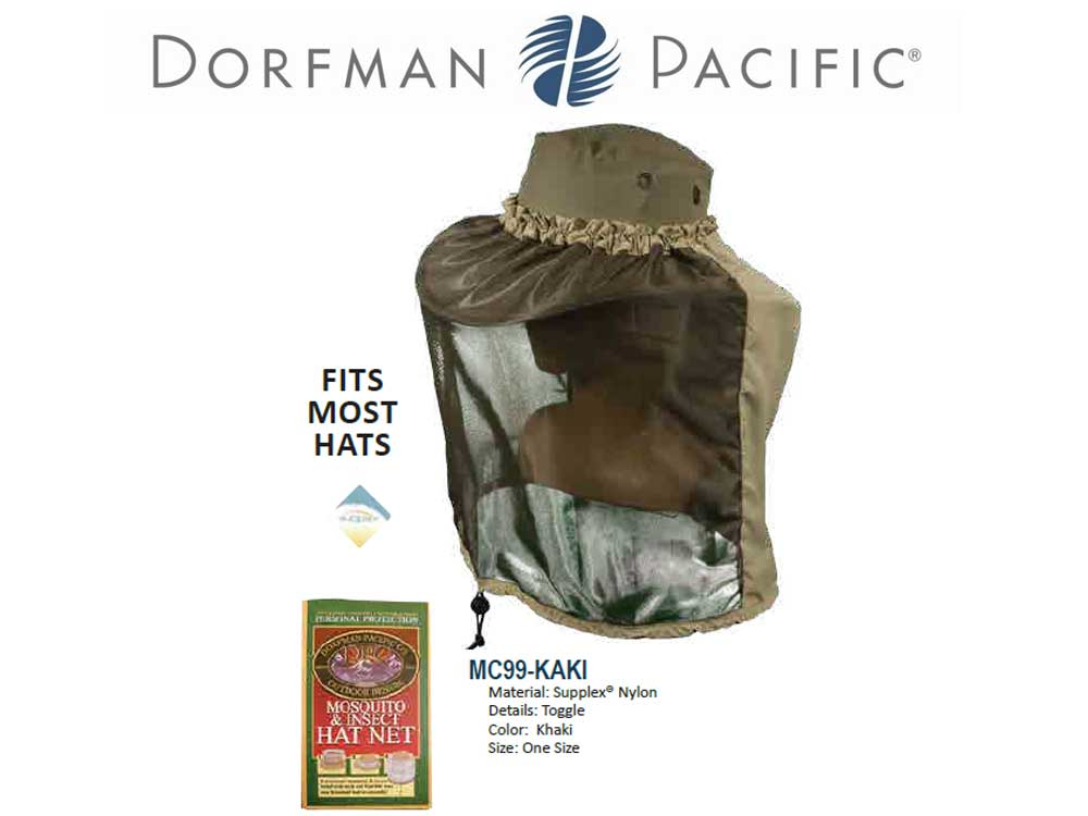 Dorfman Pacific Hat net no mosquitos
