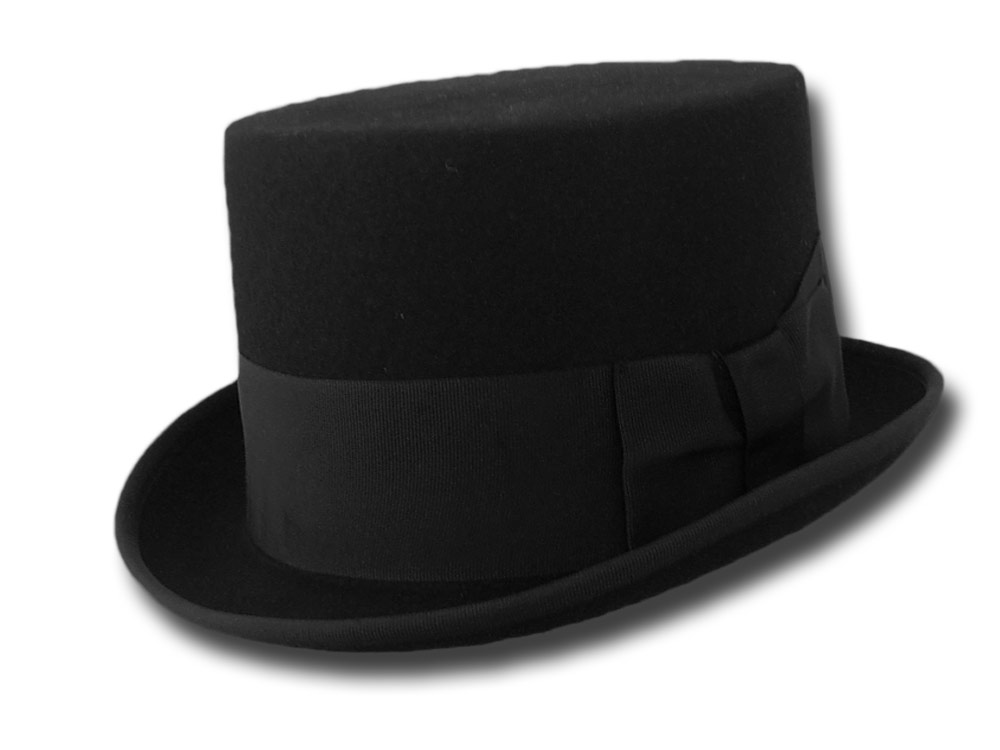 Wool top Hat Stovepipe