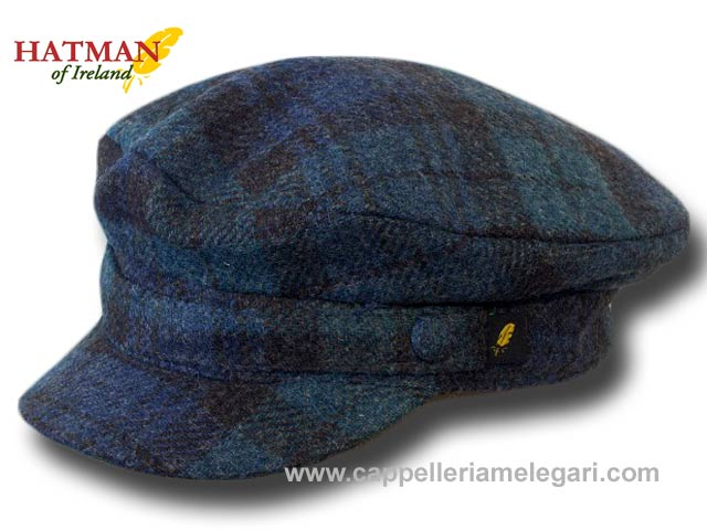 Hatman of Ireland Berretto marinaio tartan twe