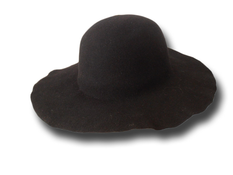 Hat body cone wool felt 120 gr. medium stiff