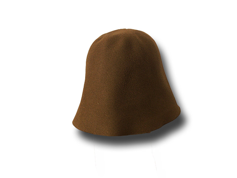 Hat body cone fur felt about 100 gr.