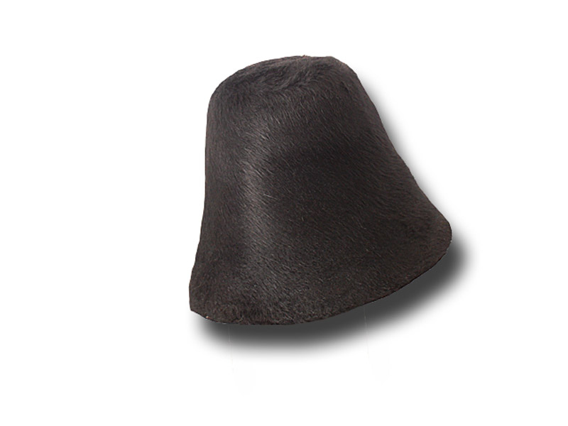 Hat body cone Melousine fur felt about 100 gr.