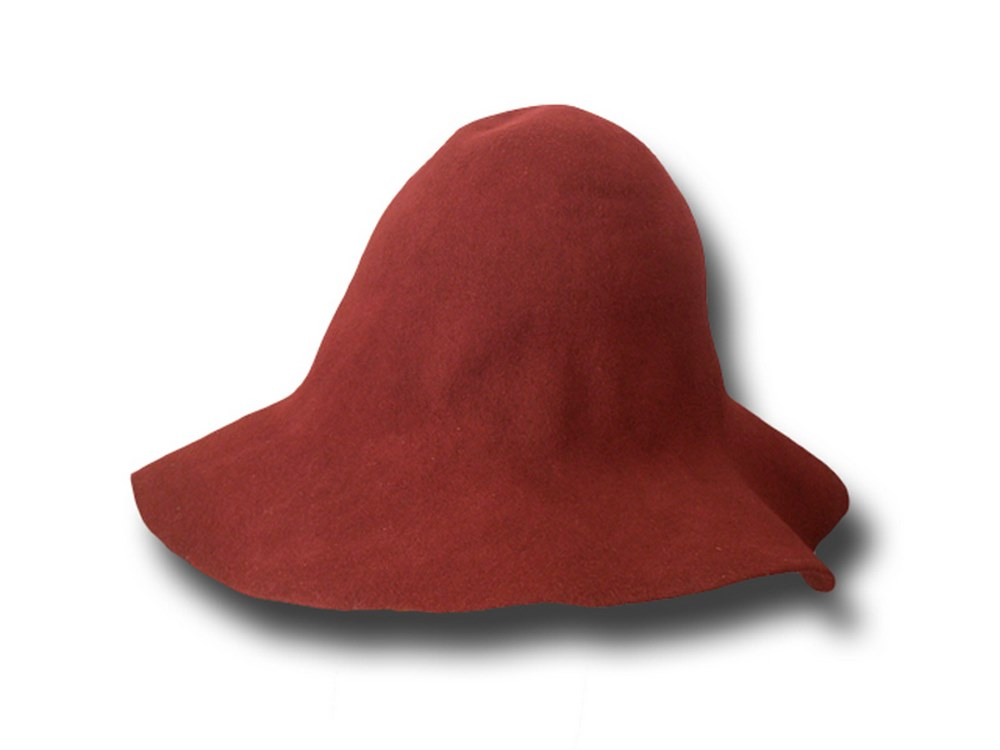 Hat body cone wool felt 130 gr.