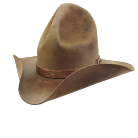 Western Charley Waite Aged Dusty hat