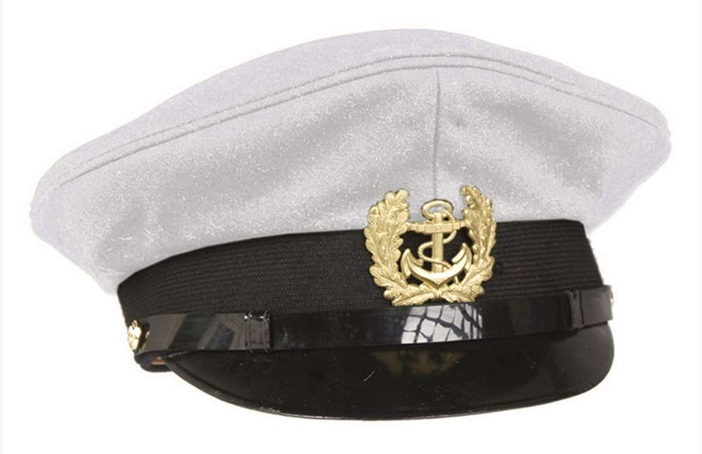 Sommer Military Cap navy Visier Hut