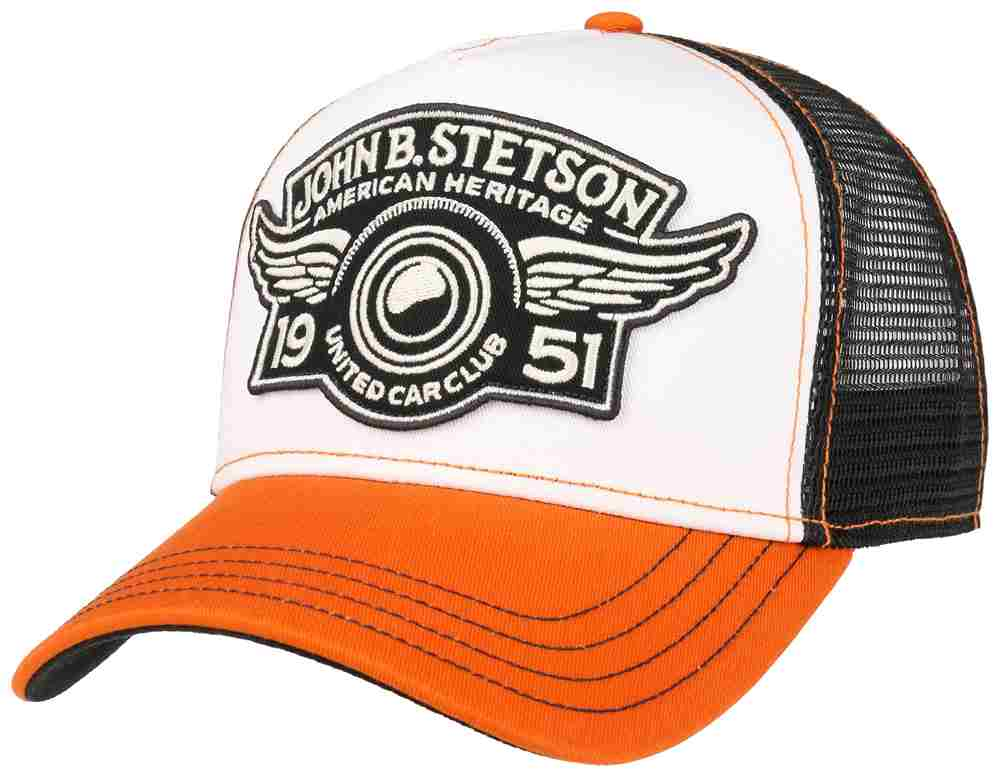 Stetson Berretto Baseball Trucker United Car C