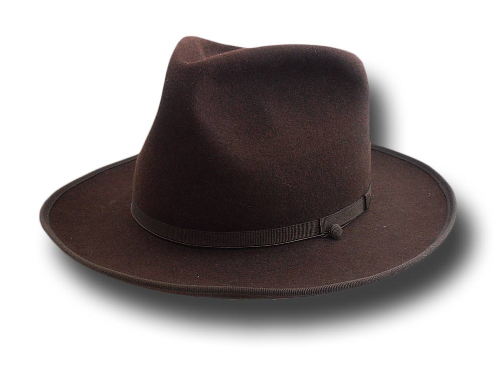 Fedora Johnny Depp top quality hat brown