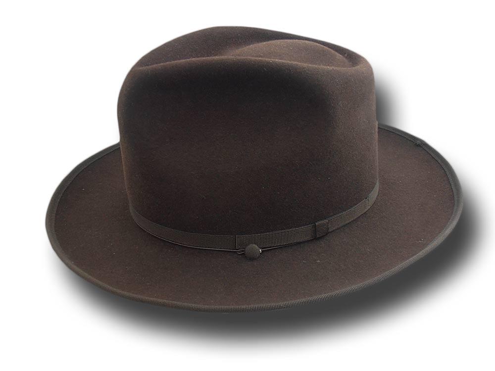 7f61ce3ffac54b Fedora Johnny Depp top quality hat brown [depp-fedora-marrone ...