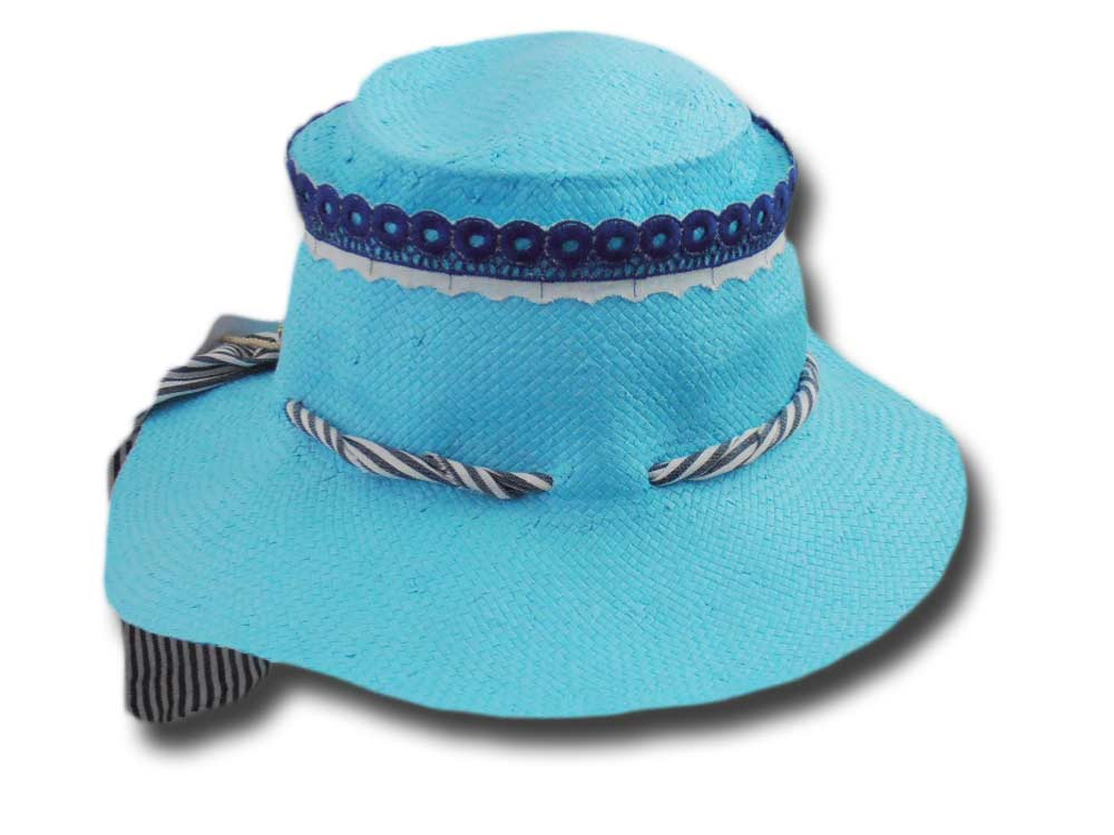 Summer woman bow Hat Caribe Mari Hats