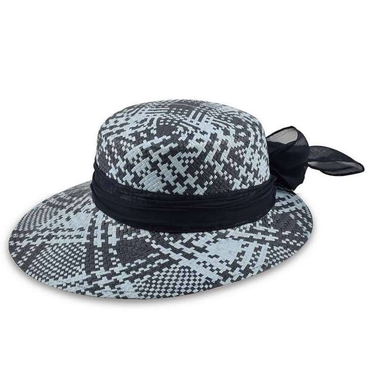 Melegari summer woman hat Funny Blue