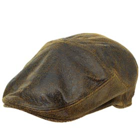 Bailey Taxten leather Ivy cap