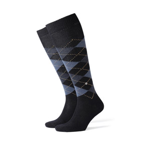 Burlington Socks man Preston Blue