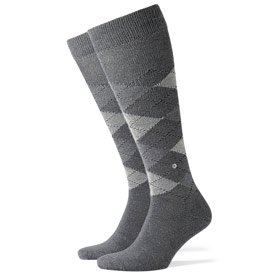 Burlington Socks man Preston Grey