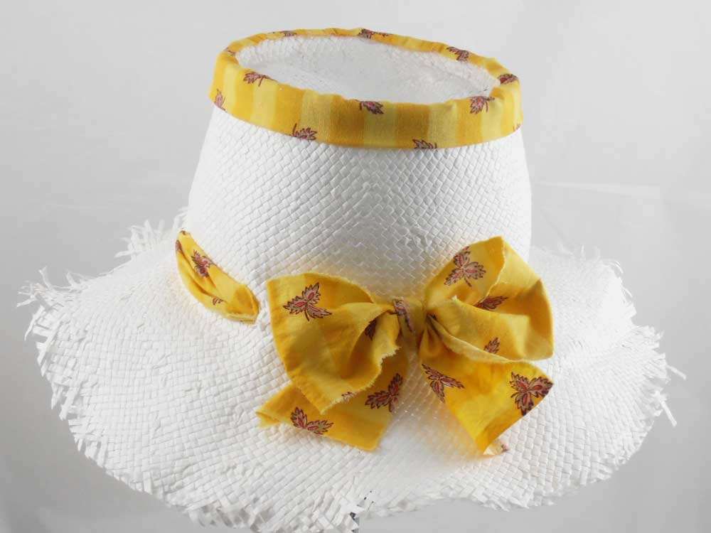 Mari Hats Summer woman bow Hat Bastienne