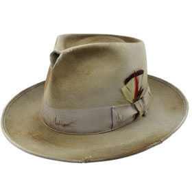 Cappello Fedora Johnny Depp Dusty Customized