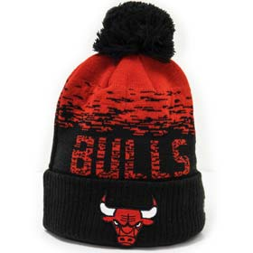 New Era Berretto pom pon NBA Chicago Bulls
