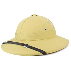 Casco coloniale francese safari French Pith Helmet