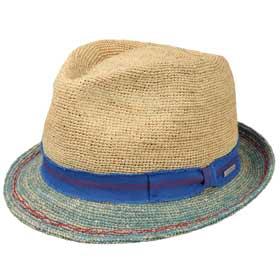 Stetson Sun Guard Flat Cap Cap Hat Cap Organic Cotton Madison Dark Red 85