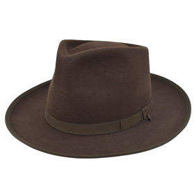 Cappello Fedora Johnny Depp Top Quality marron
