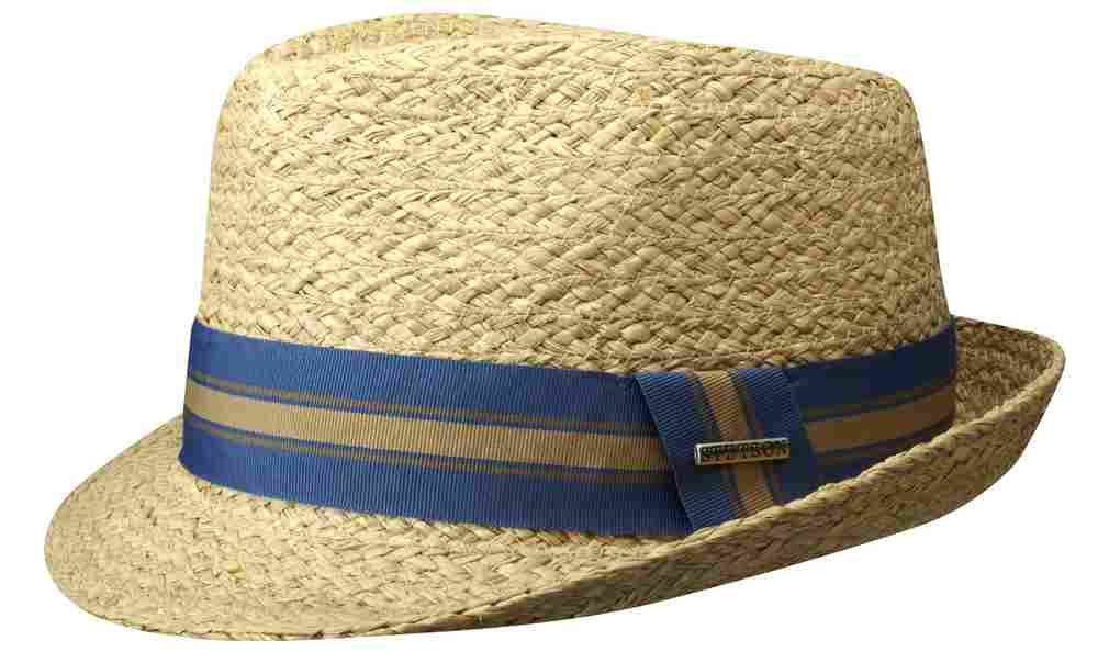 Stetson Cappello Trilby Boston Mandalo in raff