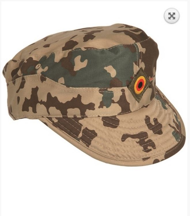 Melegari German Tropical camo field cap