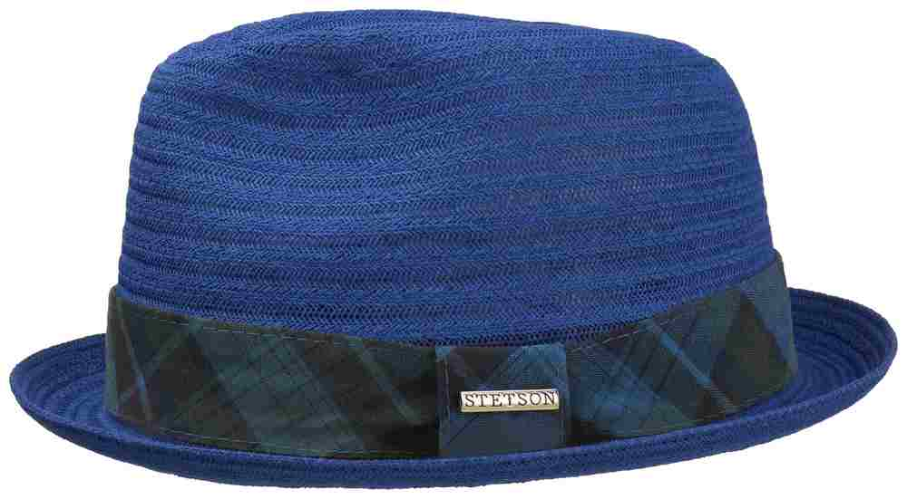 Stetson Cappello trilby Player viscosa Blu avi