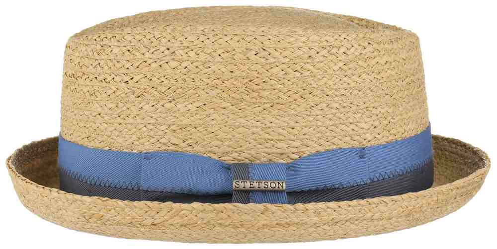 Stetson Cappello Pork Pie Diamond Raffia