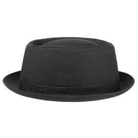Stetson Cappello Athens Pork Pie in cotone