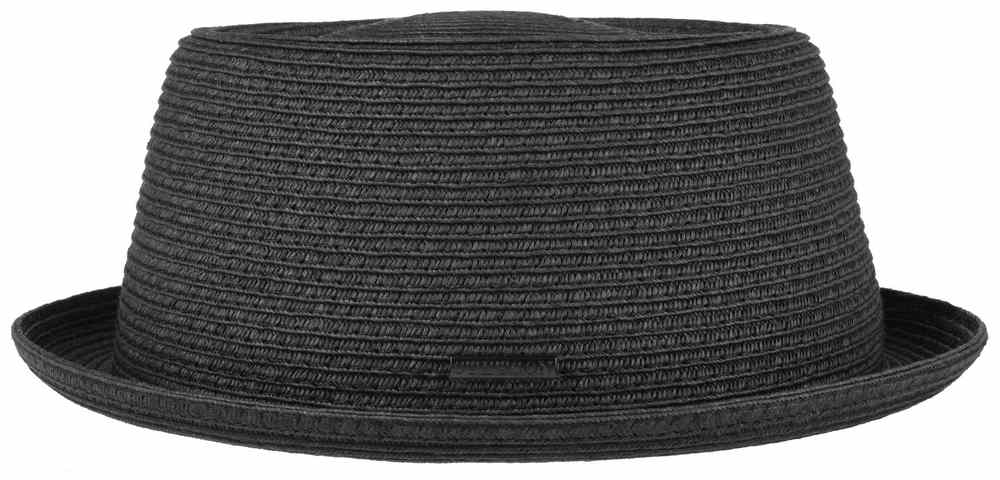Stetson Cappello Pork Pie Toyo Nero