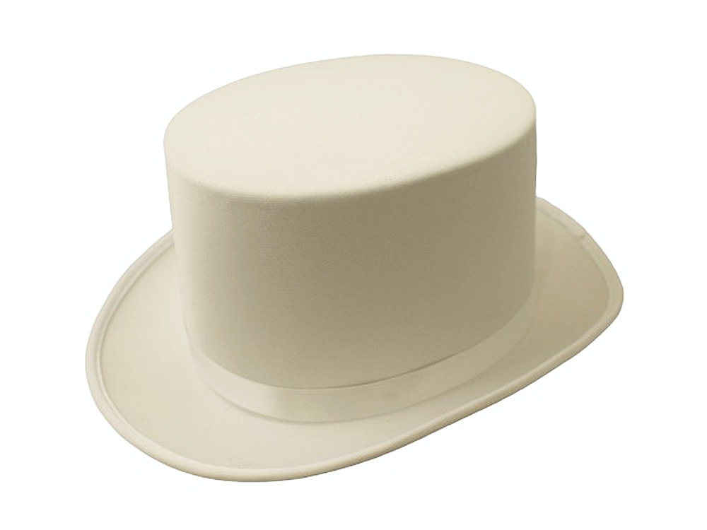Fancy dress top hat various colors