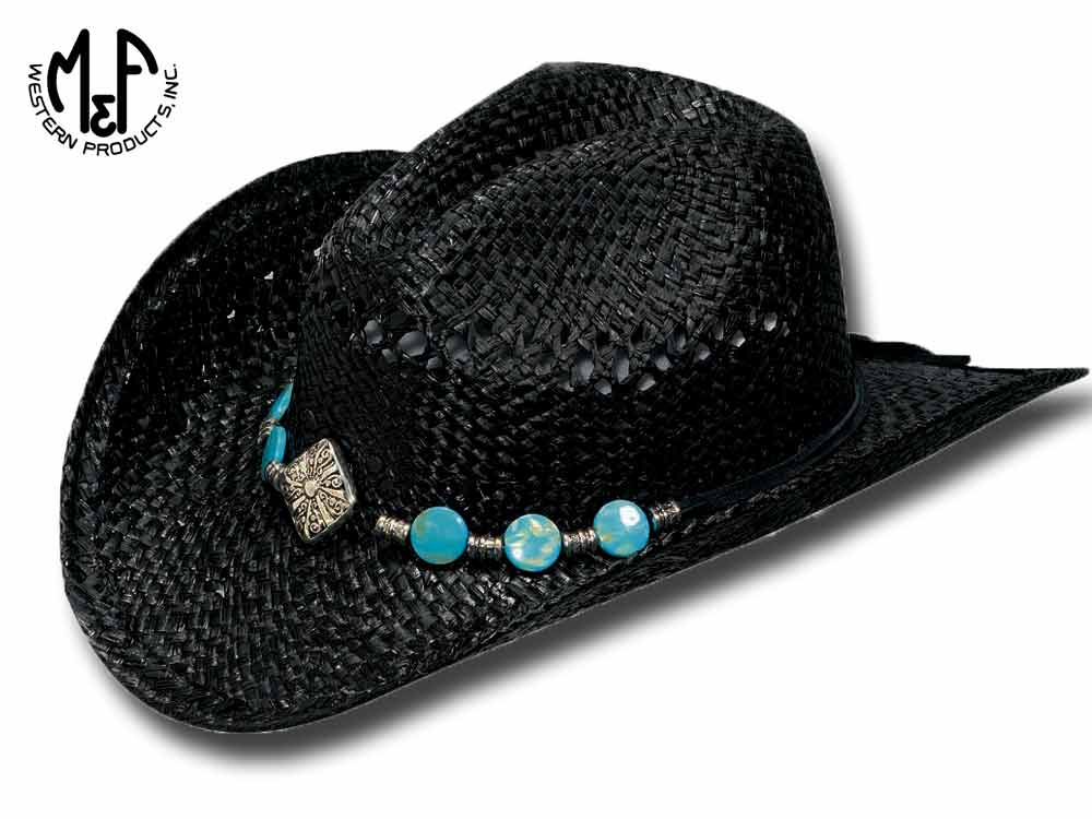 Twister Hats Raffia Western straw hat Roxy