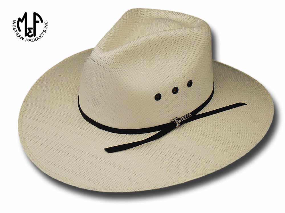 Cappello Western Indiana natural Diamond Twister Hats