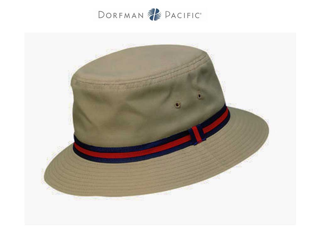 Dorfman Pacific cotton Bucket hat