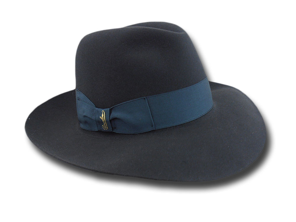 Borsalino Woman Hat Lavinia Dark grey