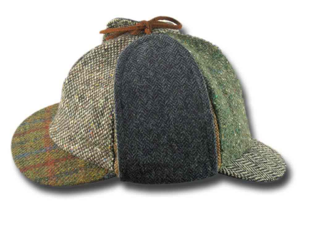 Berretto irlandese Sherlock Holmes Patchwork H c7651affbb0d
