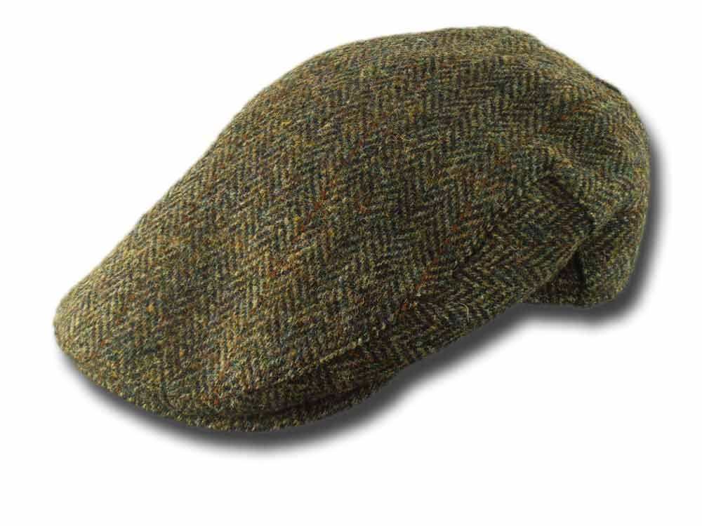 Berretto piatto Stornoway Harris tweed Failswo