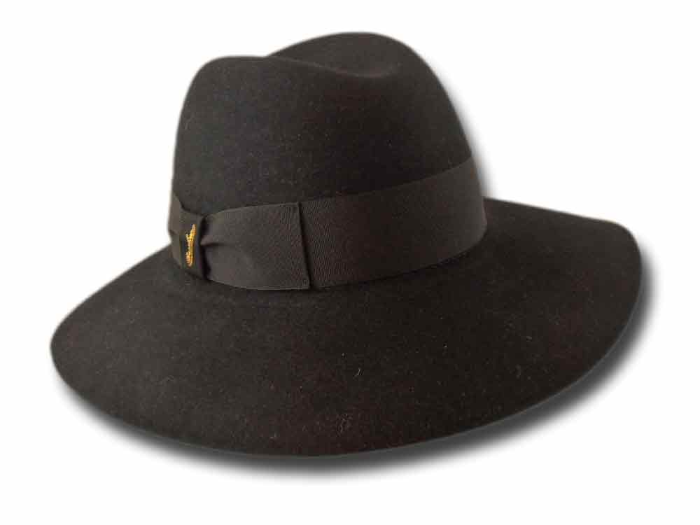 Borsalino Women Hat Sarah Black