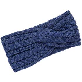 Aran Super soft wool Headband