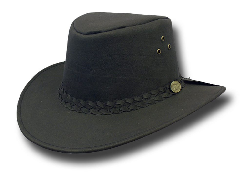 Hawkins Cappello in cotone cerato Aussie Hat C a1997d084cfb