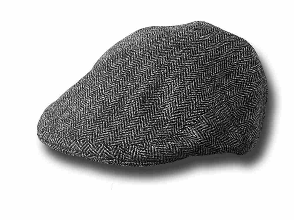 Lock & Co. Fairway Herringbone flatcap