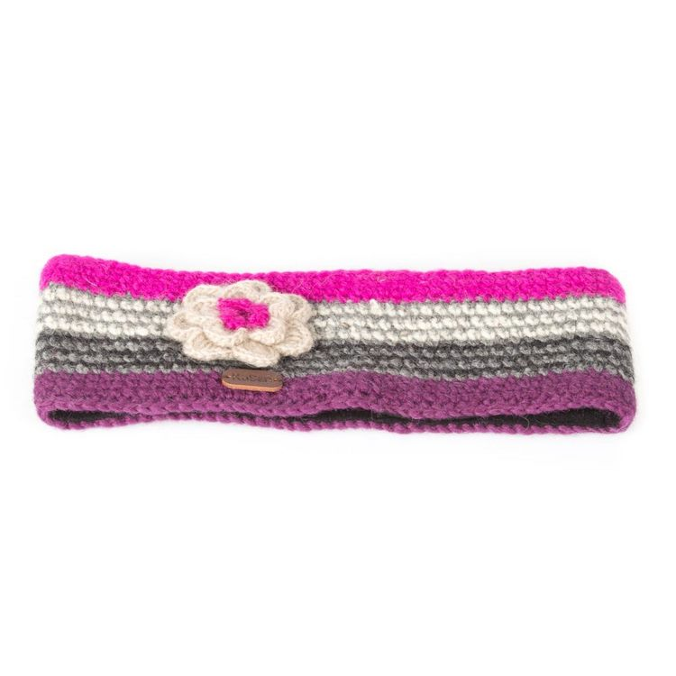 Fascia Crochet Kusan London Purple Pink