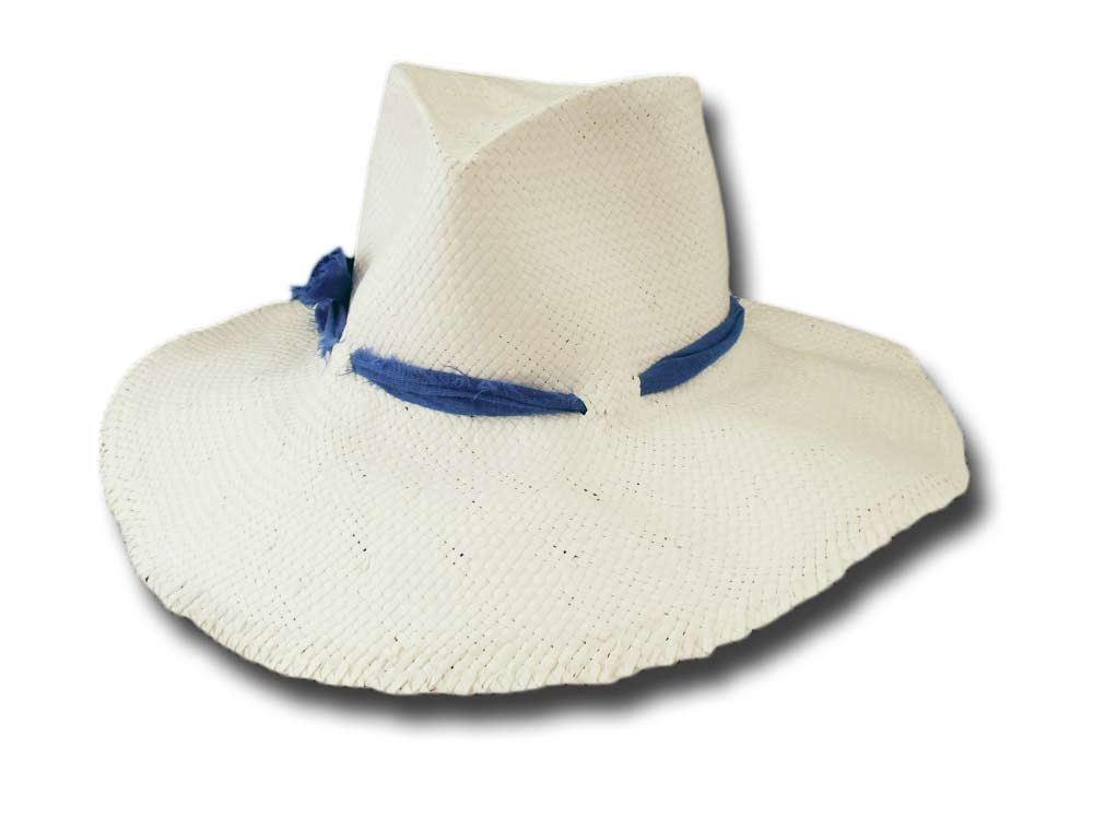 Mari Hats wide-brimmed Summer woman Hat Sandy