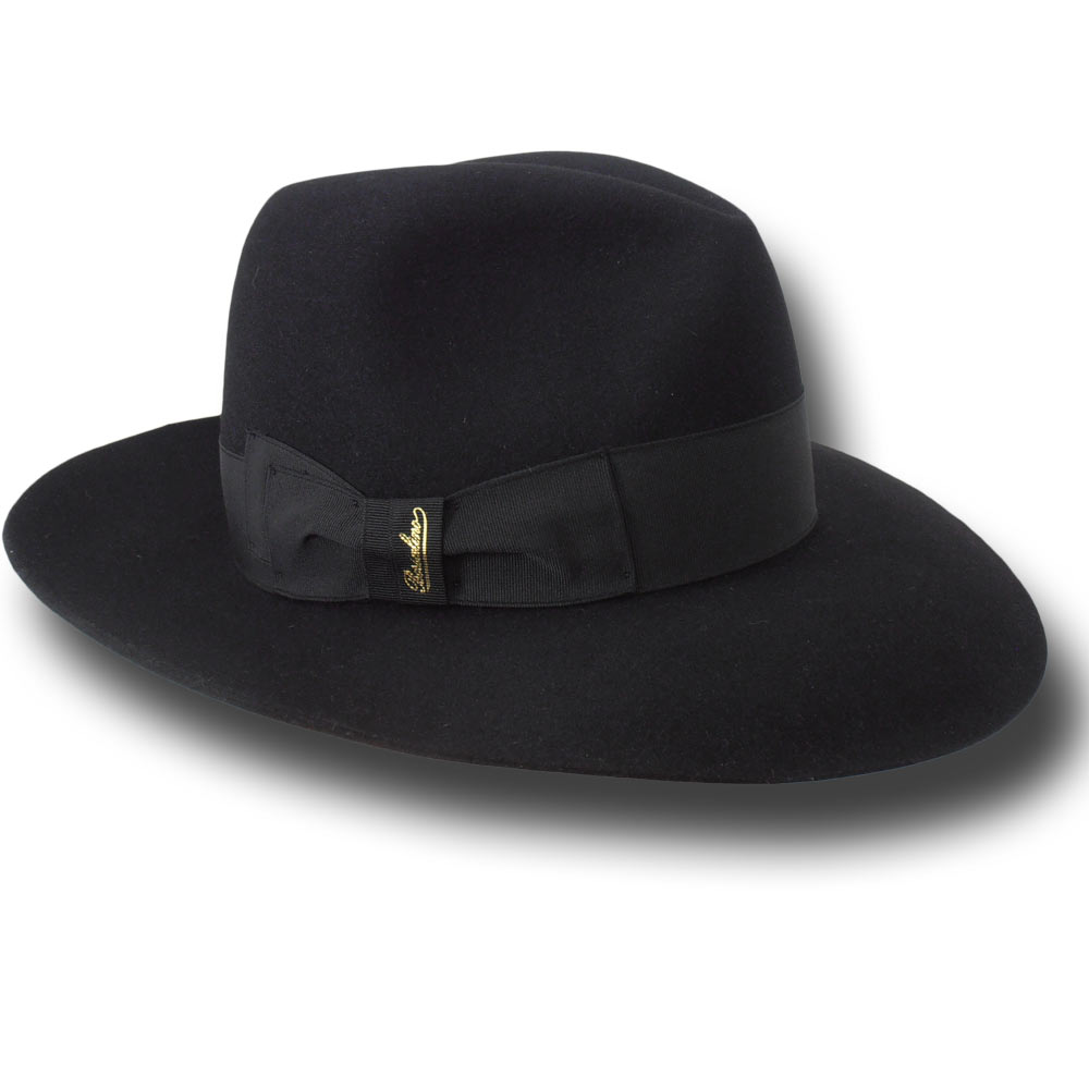 Borsalino Woman Hat Lavinia Black