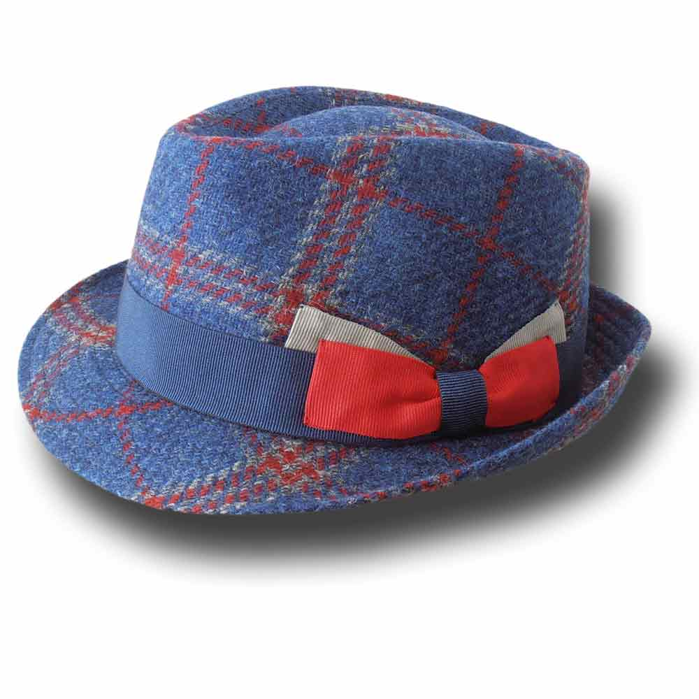 Melegari man Trilby hat Scottish