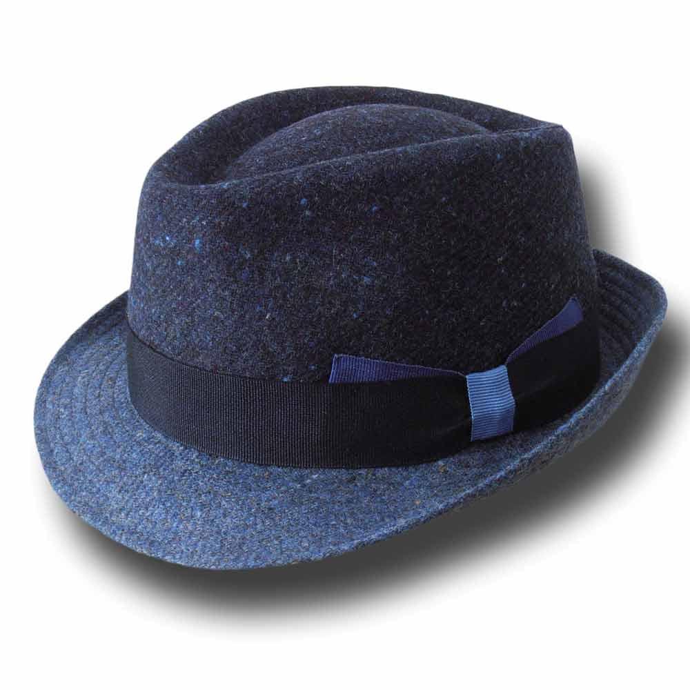 Cappello trilby uomo Melegari Bicolore Alf 24089dc8a137