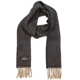 John Hanly Merino wool and cashmere scarf 03